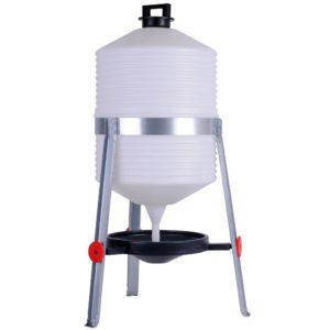 Siphontränke aus Kunststoff 30 Liter, Tränke für Geflügel