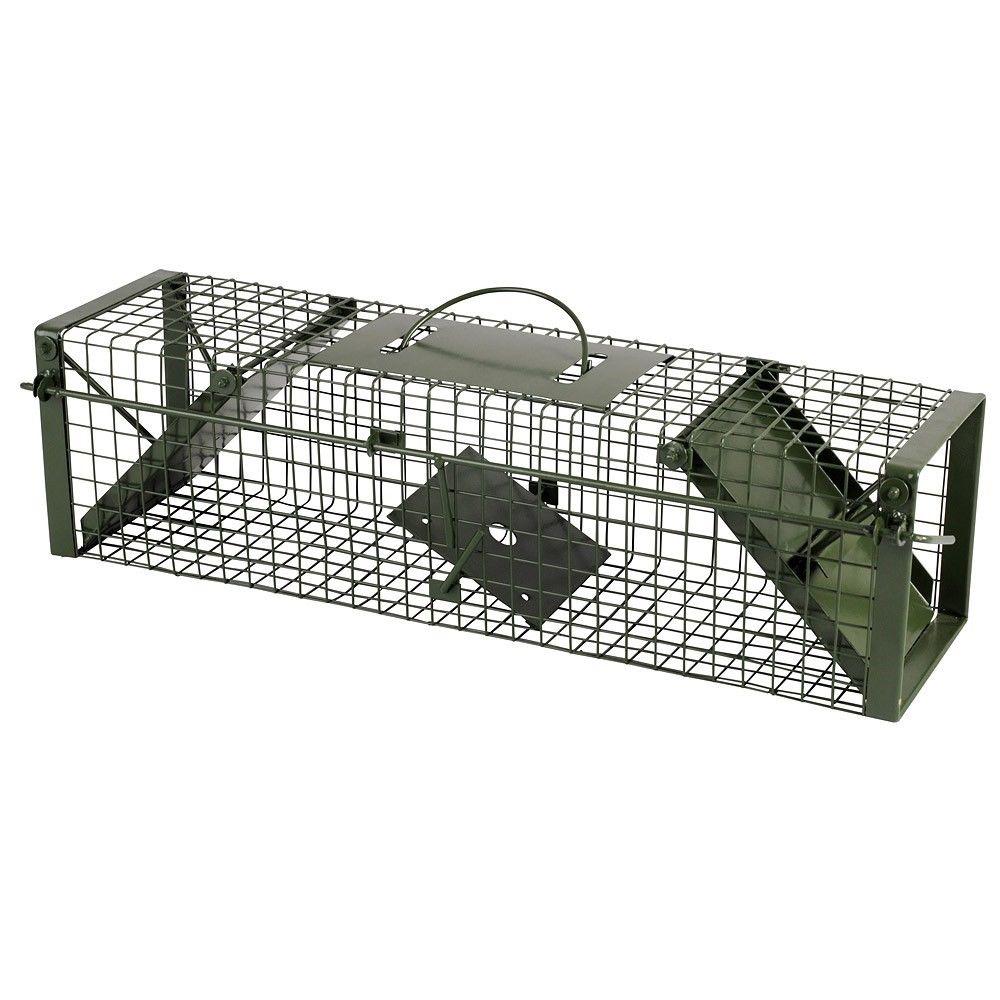 raubwild lebendfalle 60x17x17cm katzenfalle maderfalle rattenfalle neu. Black Bedroom Furniture Sets. Home Design Ideas