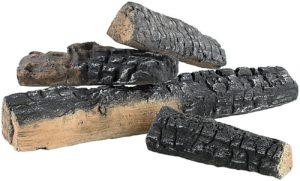 Keramikholzrußimitate Gel- und Ethanol-Kamin DEKORATION Gelkamin Bio-ethanolkamin