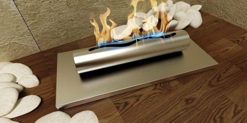 tisch gel und ethanol kamin edelstahl geb rstet gelkamin bio ethanolkamin 37 cm. Black Bedroom Furniture Sets. Home Design Ideas